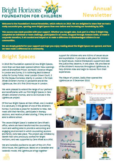 Homepage - Bright Horizons Foundation